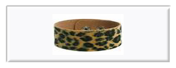 Animal Skin Printed Wristbands