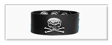 Bone Skulled Wristbands