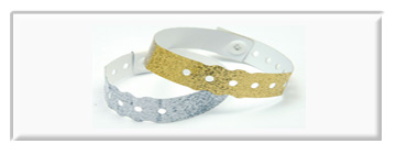 Gilter Metallic Wristbands